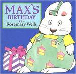 Max's Birthday book