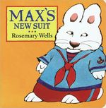Max's New Suit book