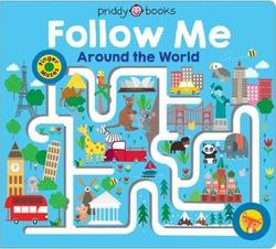 Maze Book: Follow Me Around the World book