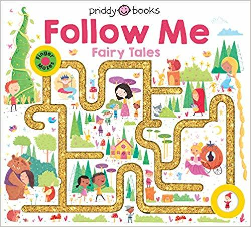 Maze Book: Follow Me Fairy Tales book