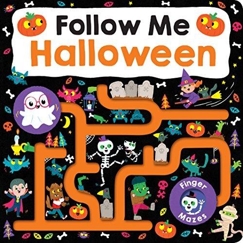 Maze Book: Follow Me Halloween book