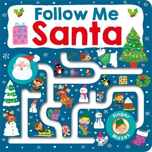 Maze Book: Follow Me Santa book