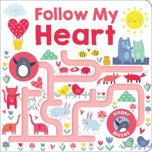 Maze Book: Follow My Heart book