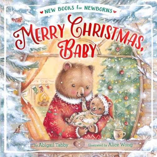 Merry Christmas, Baby book
