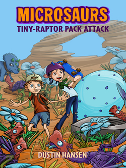 Microsaurs: Tiny-Raptor Pack Attack Book
