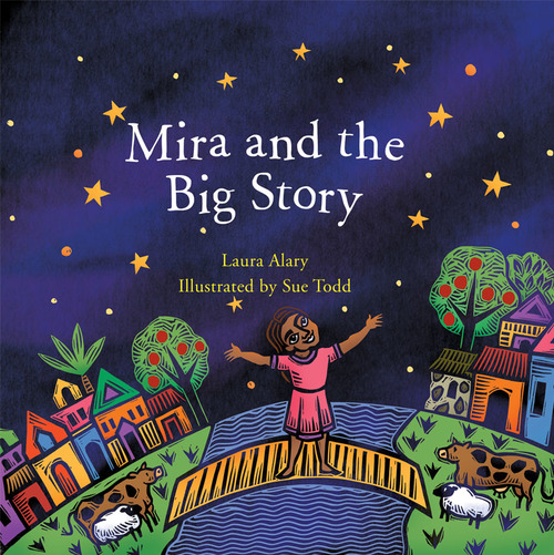 Mira and the Big Story Book