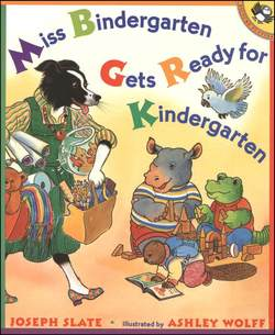 Miss Bindergarten Gets Ready for Kindergarten book