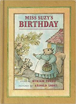 Miss Suzy's birthday book