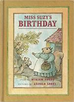 Miss Suzy's birthday book
