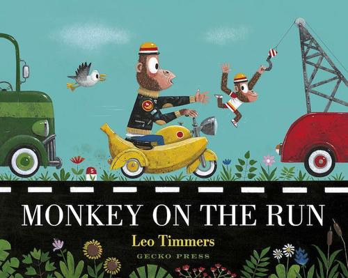 Monkey on the Run book