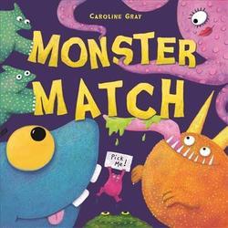 Monster Match Book