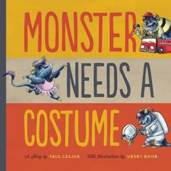 Monster Needs a Costume book