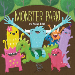 Monster Park! book