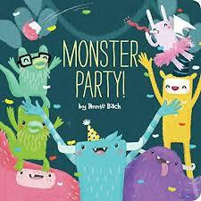 Monster Party! book