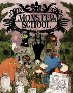 Monster School book