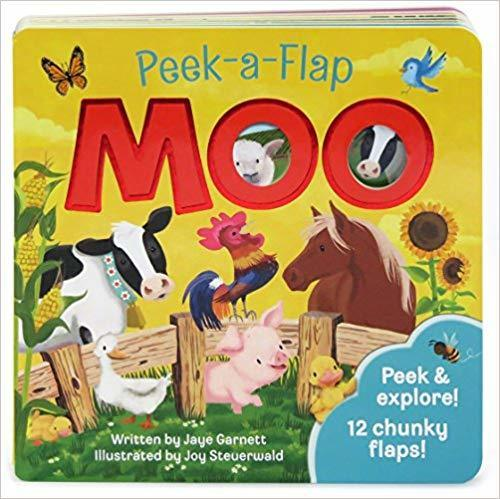 Moo: Peek-a-Flap book