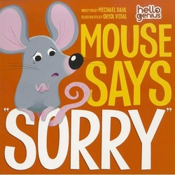 "Mouse Says ""Sorry"" book"