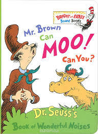 Mr. Brown Can Moo! Can You? book