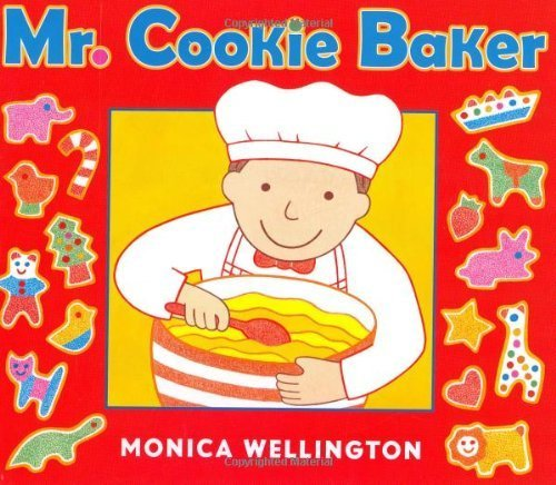 Mr. Cookie Baker book