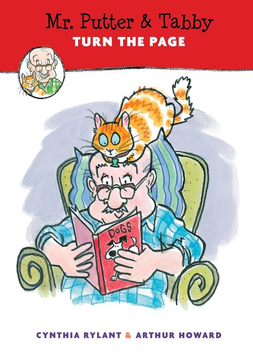 Mr. Putter & Tabby Turn the Page book