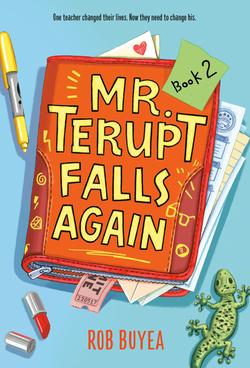 Mr. Terupt Falls Again book