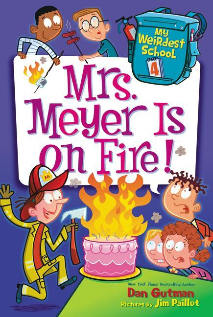 Mrs. Meyer Is on Fire! book