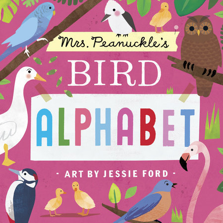 Mrs. Peanuckle's Bird Alphabet Book