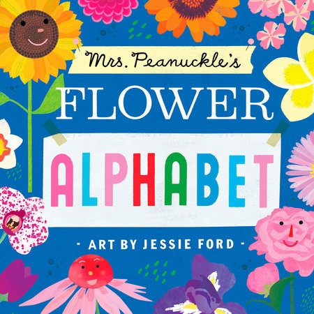 Mrs. Peanuckle's Flower Alphabet book