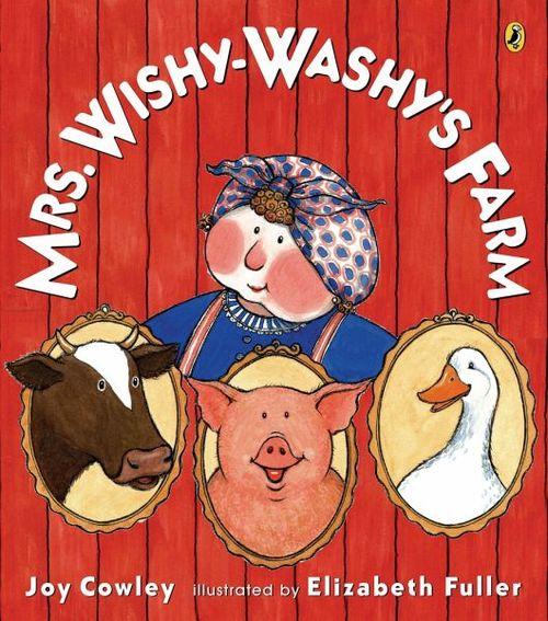 Mrs. Wishy-Washy's Farm book