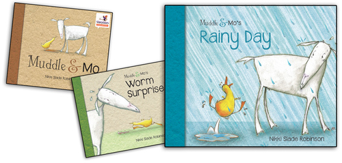 Muddle & Mo's Rainy Day book