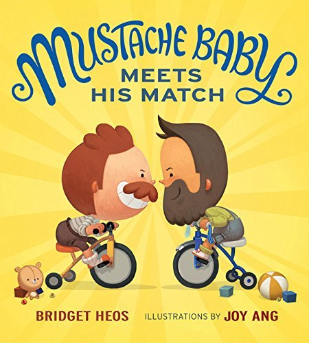 Mustache Baby Meets His Match book