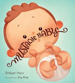 Mustache Baby book