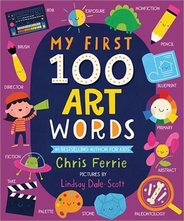 My First 100 Art Words book