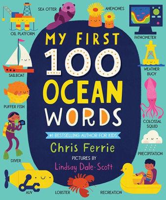 My First 100 Ocean Words book