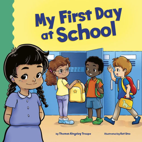 My First Day at School book