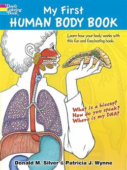 My First Human Body Book Book