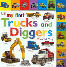 My First Trucks and Diggers book