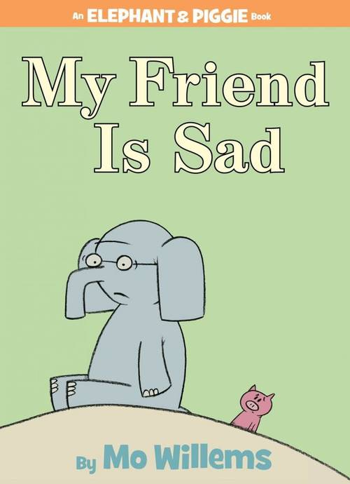 My Friend is Sad book