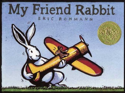 My Friend Rabbit book
