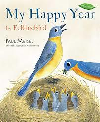 My Happy Year by E. Bluebird book