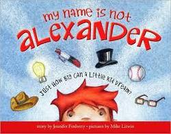 My Name Is Not Alexander book