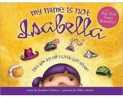 My Name is Not Isabella book