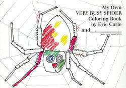 My Own Very Busy Spider Coloring Book book