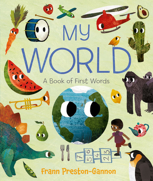 My World: A Book of First Words book