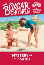 Mystery in the Sand book