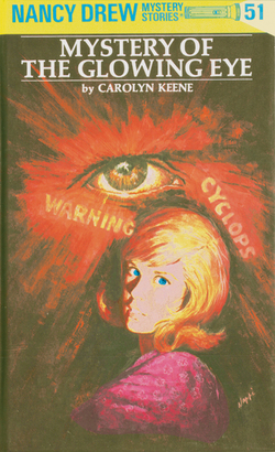 Nancy Drew 51: Mystery of the Glowing Eye Book