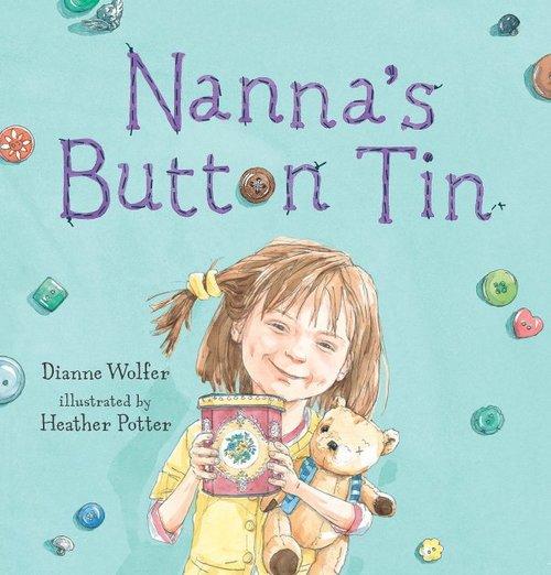 Nanna's Button Tin book