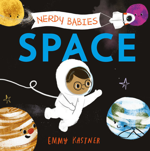 Nerdy Babies: Space Book