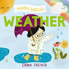 Nerdy Babies: Weather book