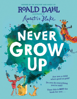Never Grow Up book
